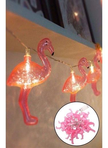 Practika 10'lu Led Flamingo Işık Zinciri 1,5 Metre Renkli